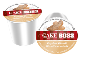 CAKE BOSS HAZELNUT BISCOTTI i kup Keurig compatible single serve coffee cups