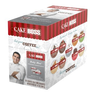CAKE BOSS BUDDY'S BLEND i kup Keurig compatible single serve coffee cups