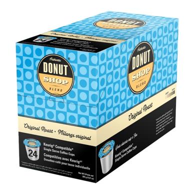 AUTHENTIC DONUT SHOP ORIGINAL ROAST i kup Keurig compatible single serve coffee cups