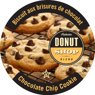 ADS Choc Chip Cookie flavored coffee