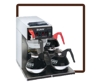 Bunn Automatic 3 burner