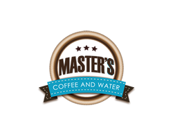 masters coffee water logo